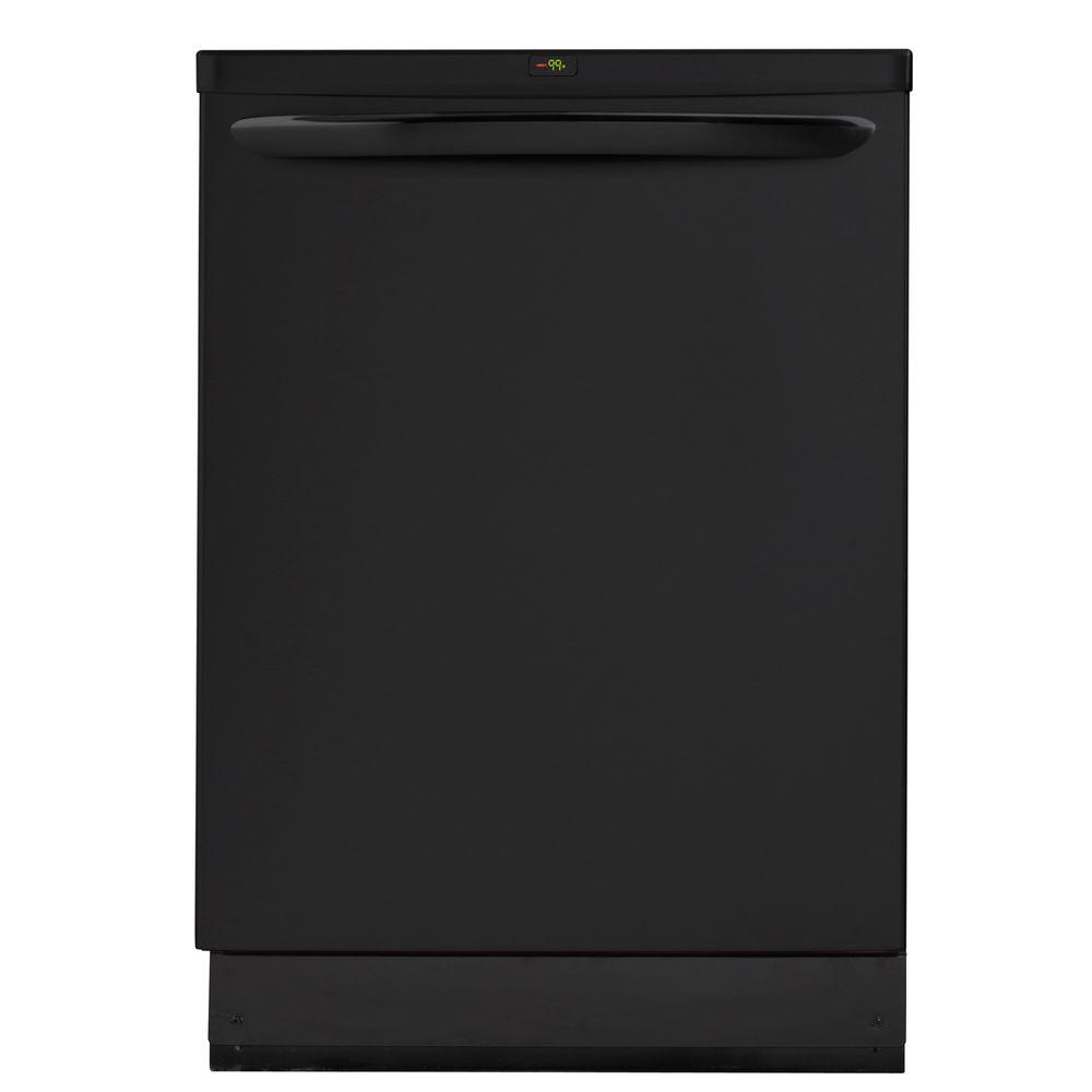Frigidaire Gallery Top Control Dishwasher in Black with OrbitClean