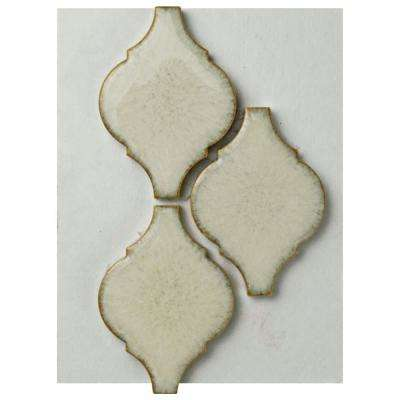 Arabesque Selene Porcelain Mosaic Tile - 3 in. x 4 in. Tile Sample