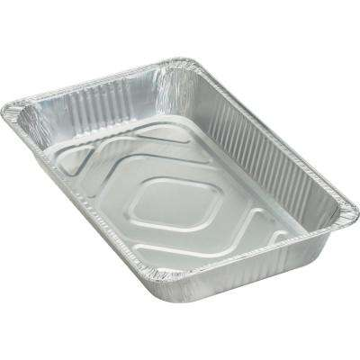 Silver Aluminum 8.8 Qt. Full-Size Disposable Pan