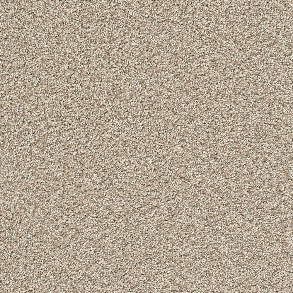 Home Decorators Collection Carpet Sample Soft Breath Ii Color Fawn Creek Texture 8 In X 8