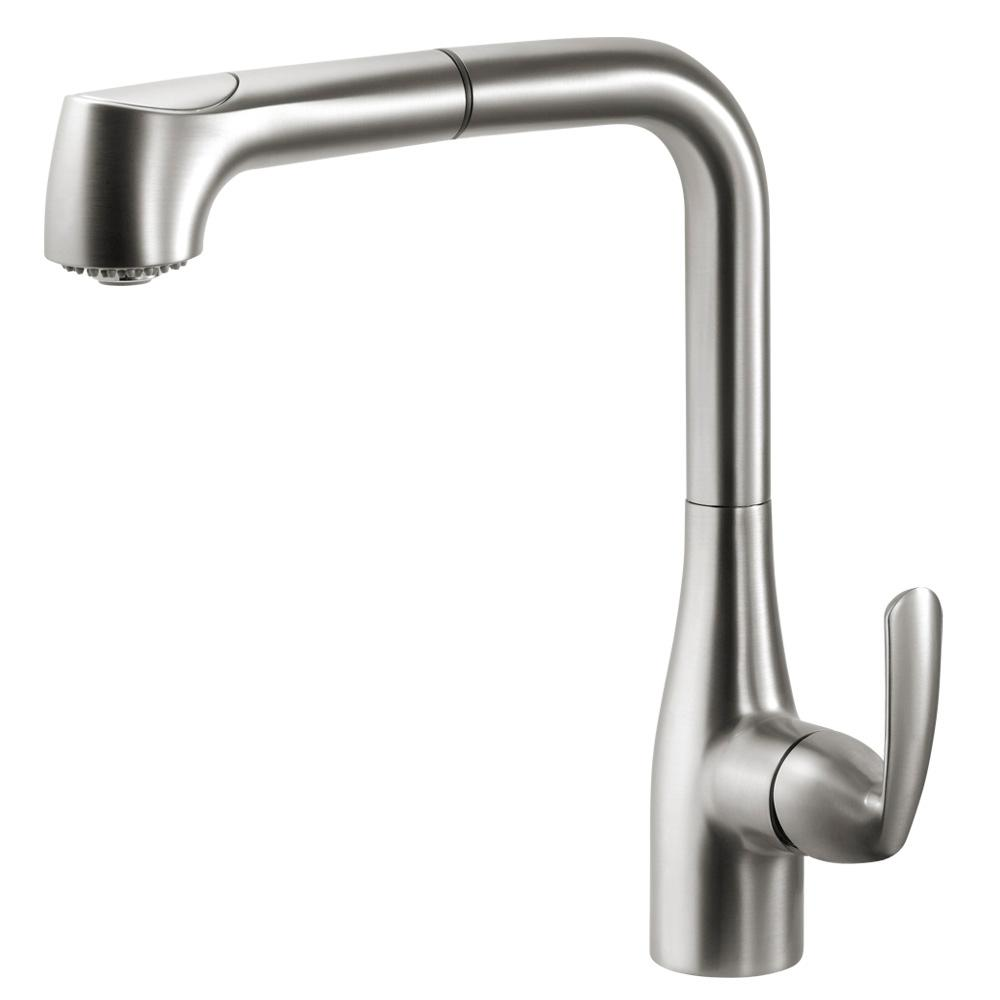 Cora Single-Handle Pull Out Sprayer Kitchen Faucet with CeraDox Technology in