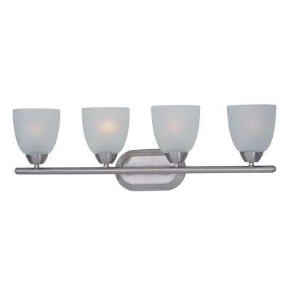 Axis 4-Light Satin Nickel Bath Vanity Light