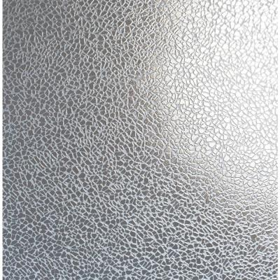 Harrington Silver Mirror Texture Wallpaper