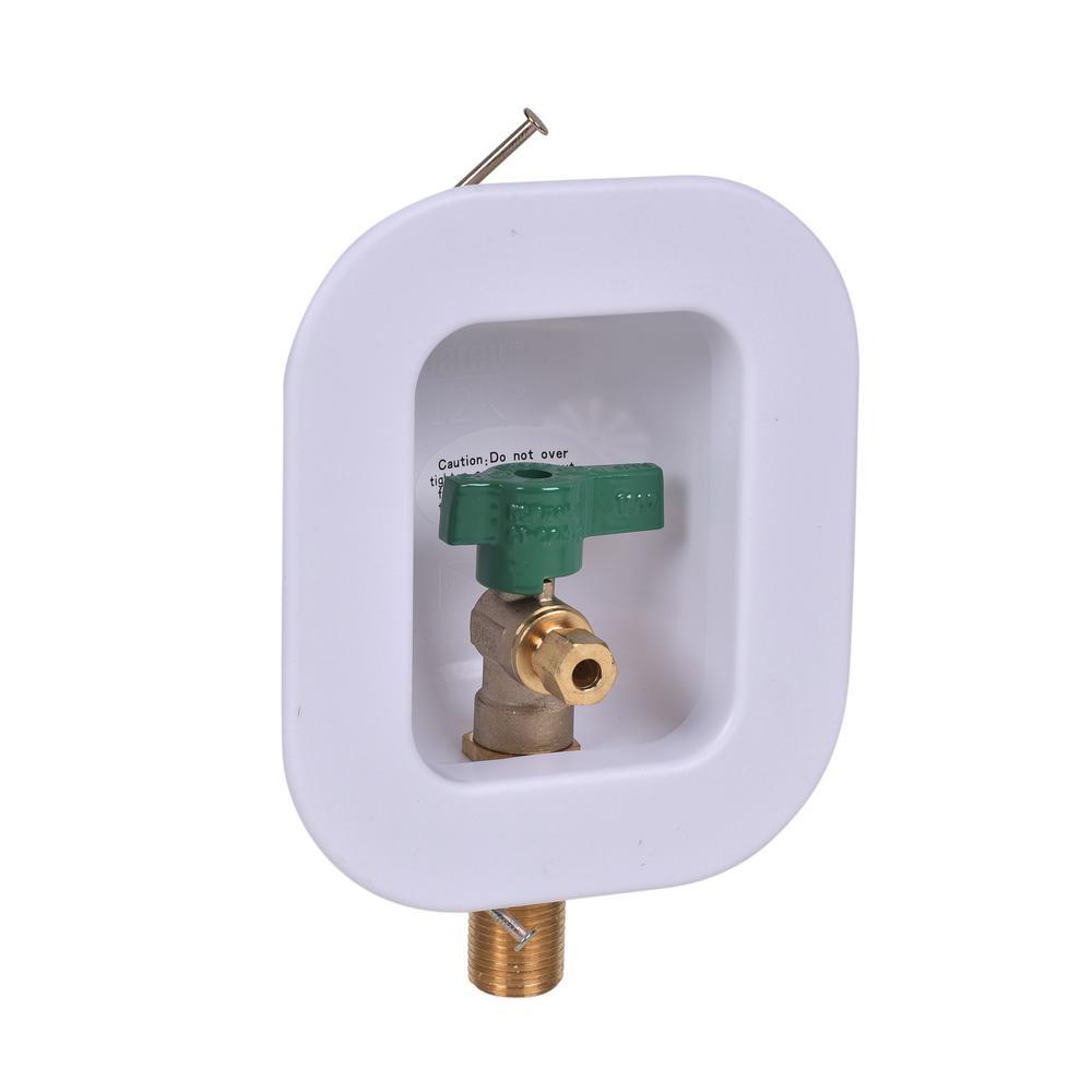 I2K Icemaker Outlet Box 1/4 Turn