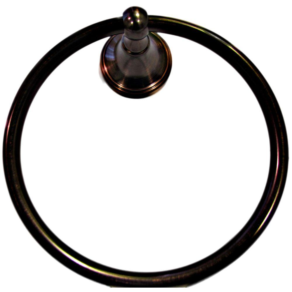 ARISTA Annchester Towel Ring in Oil Rubbed Bronze