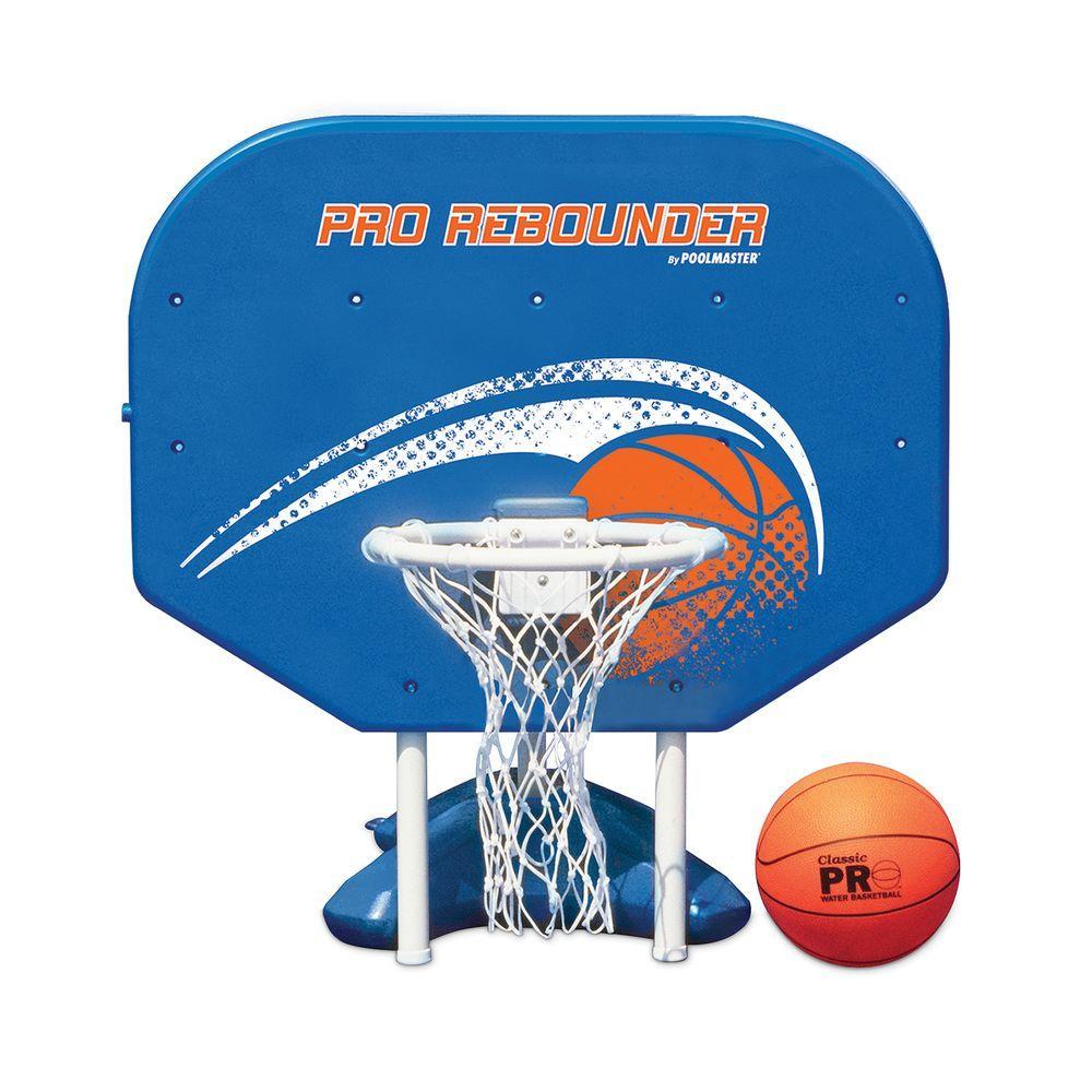 Poolmaster Pro Rebounder Swimming Pool Poolside Basketball Game ...
