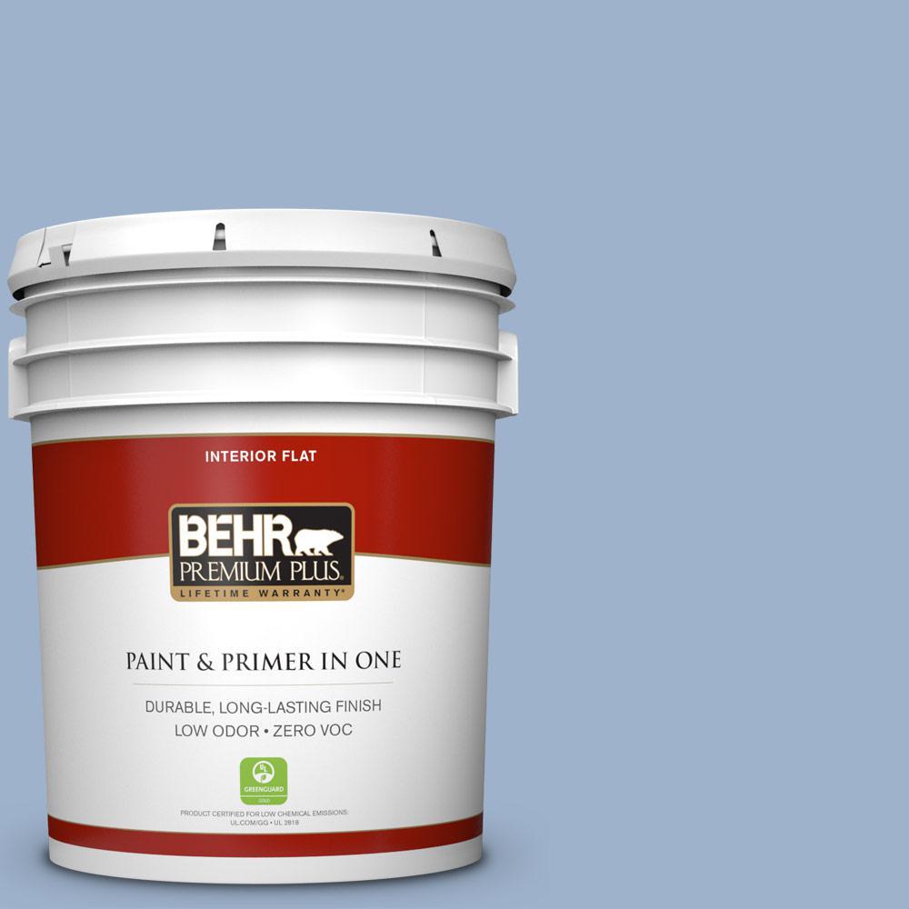 BEHR Premium Plus 5-gal. #S530-3 Aerial View Flat Interior Paint