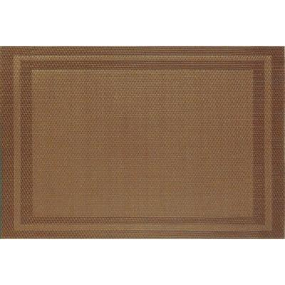 Brown Basket Weave Placemat (Set of 8)
