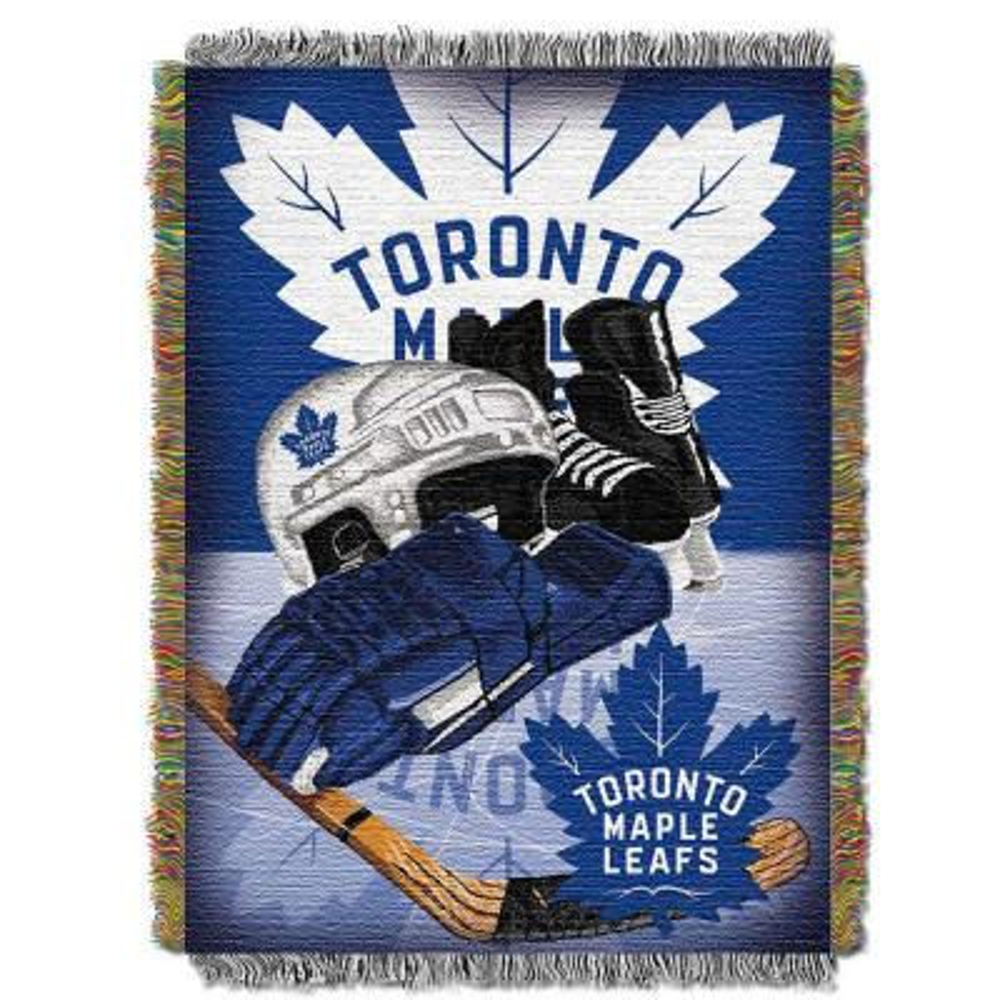 Toronto Maple Leafs Polyester Throw Blanket