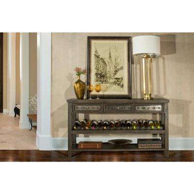 Bolt Dark Gray Console Table
