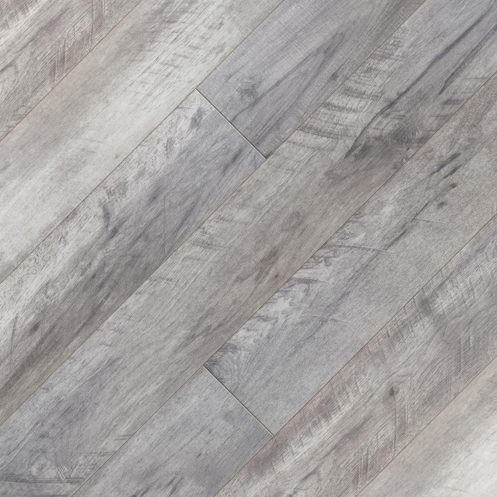Home Decorators Collection Embossed Lakewood 12 Mm Thick X 6.5 In. Wide X 47.80 In. Length Laminate Flooring (17.25 Sq. Ft. / Case), Light