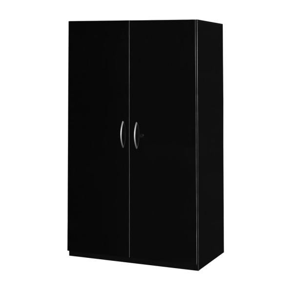 Excellent Fusion Black 52 In X 30 In Storage Cabinet Download Free Architecture Designs Terchretrmadebymaigaardcom