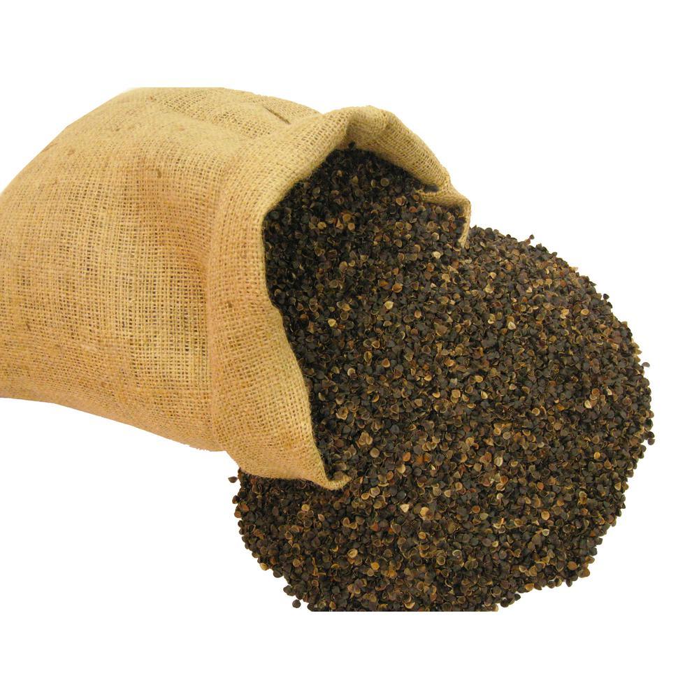 Prepackaged 50 Lbs. Organic Buckwheat Hulls