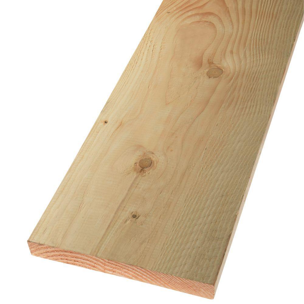 null 2 in. x 12 in. x 8 ft. Premium #2 and Better Douglas Fir Lumber