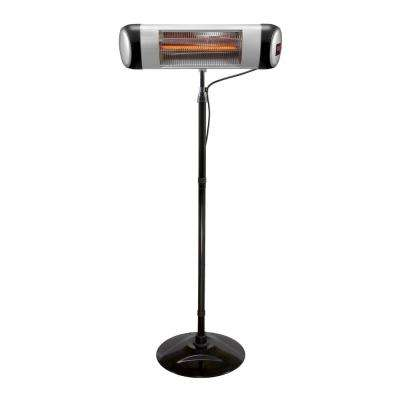 1500-Watt Carbon Fiber Infrared Technology Outdoor Portable Heater, Weatherproof with Remote