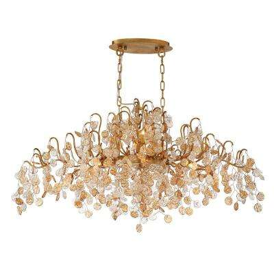 Campobasso, 10-Light Gold Chandelier