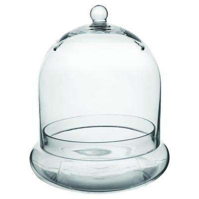 10 in. x 11-3/8 in. Cloche Terrarium Glass