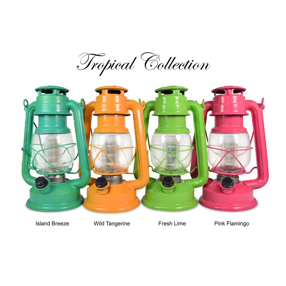 Tropical Collection Fresh Lime LED Vintage Lantern