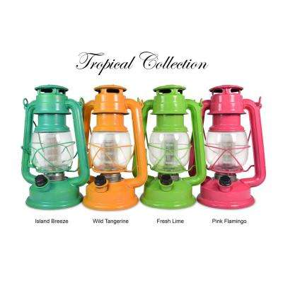 Tropical Collection Fresh Lime LED Vintage Lantern