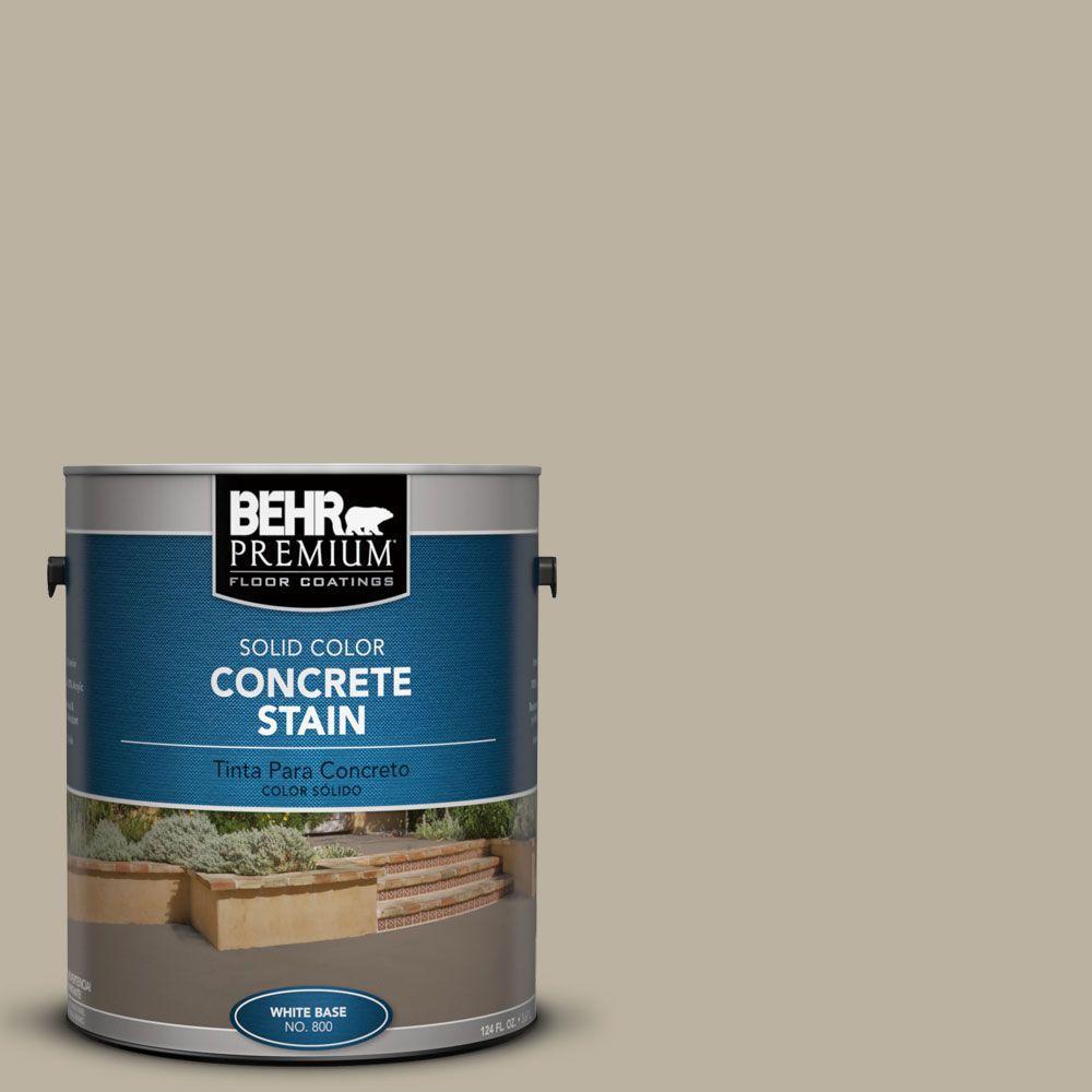 1 gal. #PFC-32 Spanish Parador Solid Color Interior/Exterior Concrete Stain