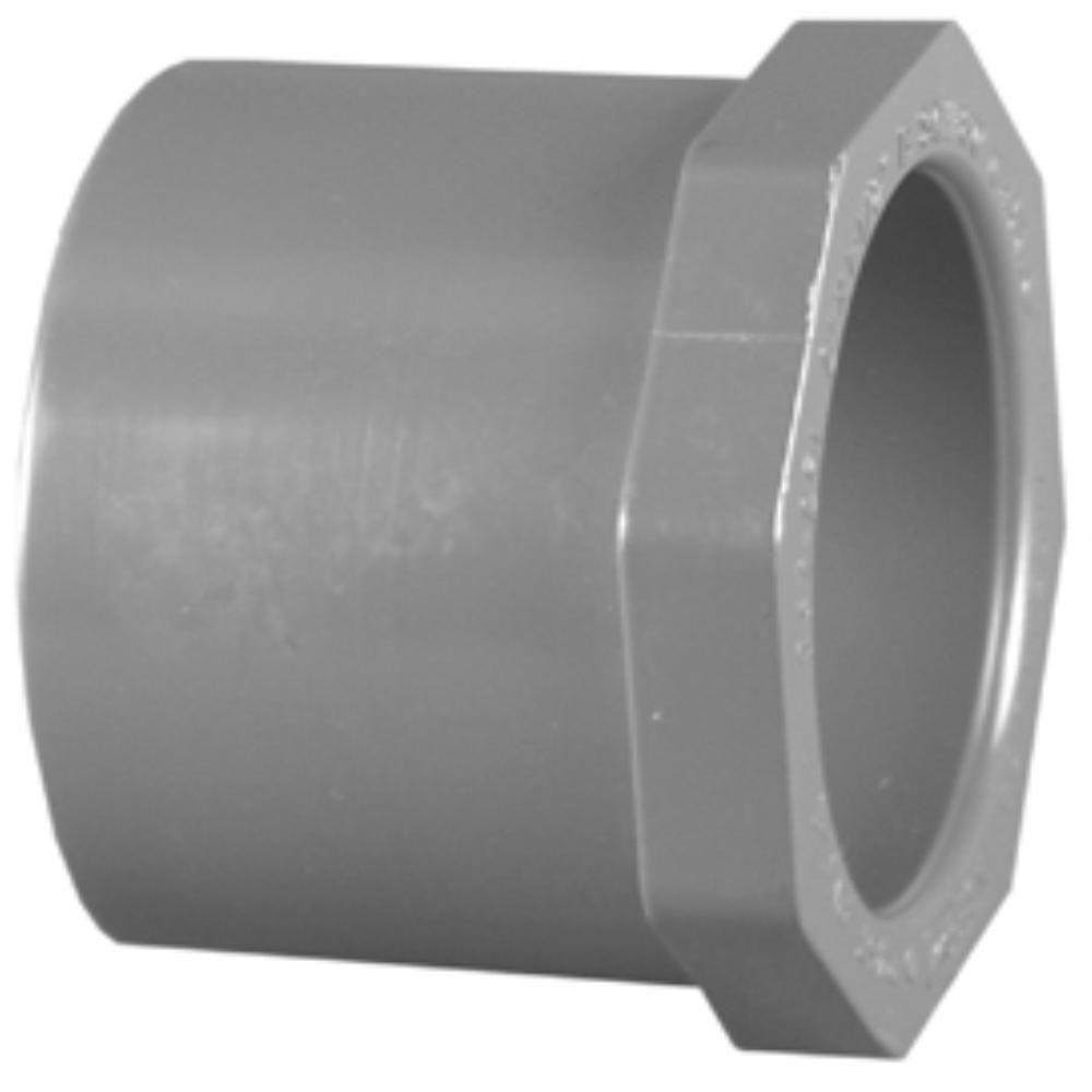 3/4 in. x 1/2 in. Sch. 80 PVC Bushing