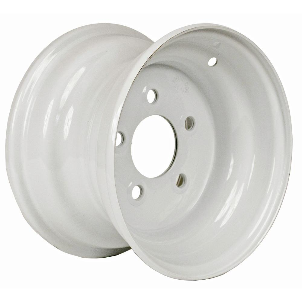 10x6 5-Hole 10 in. Steel Trailer Wheel/Rim