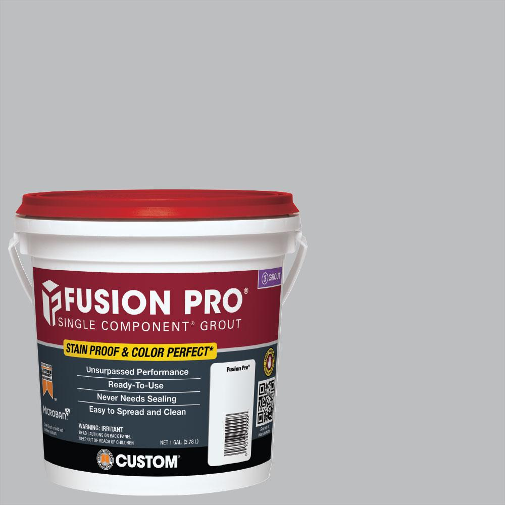 Custom Building Products Fusion Pro #115 Platinum 1 Gal. Single Component Grout
