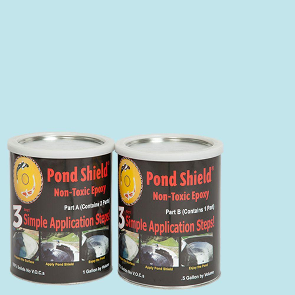 Pond Armor Pond Shield 1 5 Gal Sky Blue Non Toxic Epoxy
