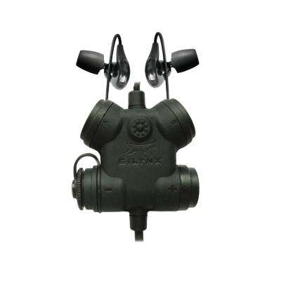 Clarus FX2 Noise Cancelling In-Ear Audio Headset System and Hearing Protection with Motorola APX Radio Connector