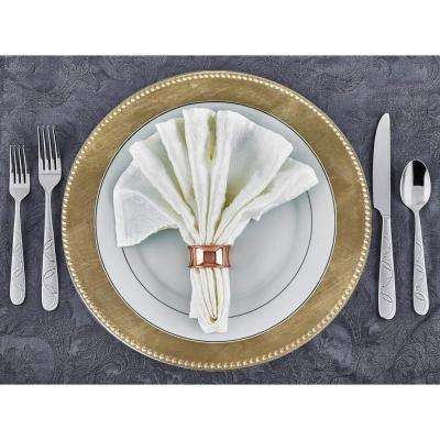 Gold Charger Plate (Set of 24)