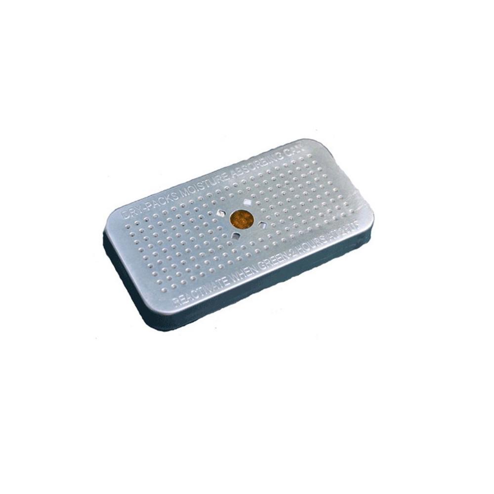 40 Gram SIlica Gel Desiccant Aluminum Canister 2 Pack Indicating No Cobalt
