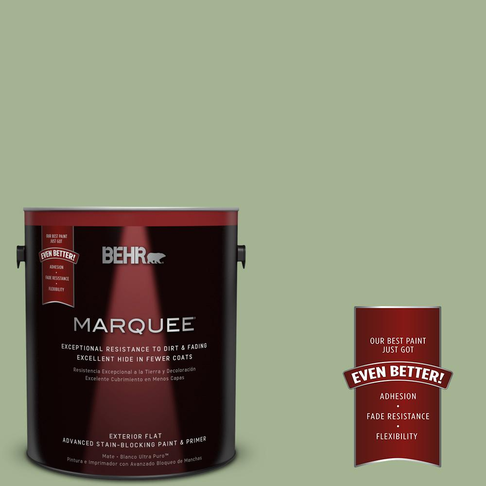 BEHR MARQUEE 1-gal. #PPU11-6 Willow Grove Flat Exterior Paint