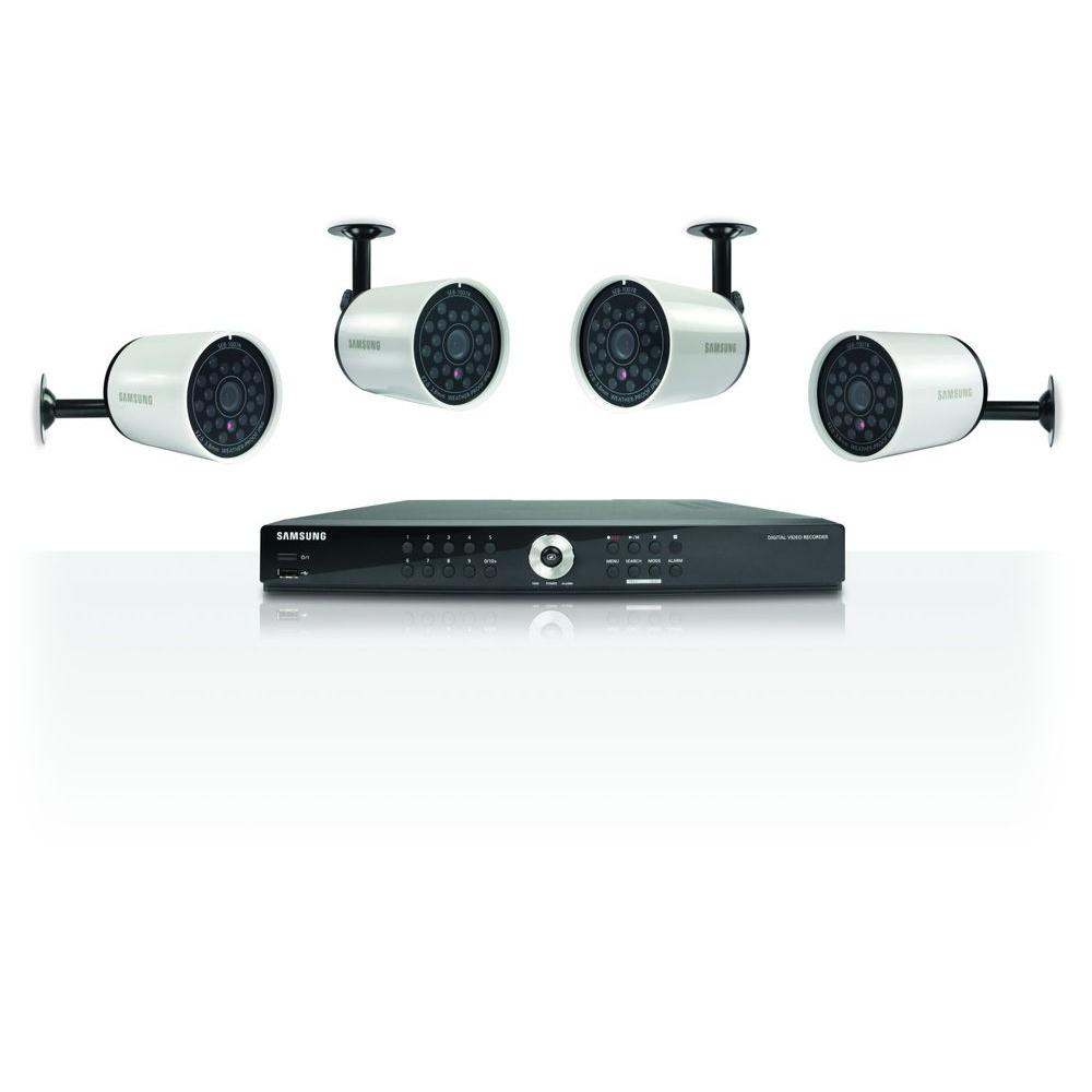 Samsung SDE-4004N 8 Channel DVR Security System-DISCONTINUED