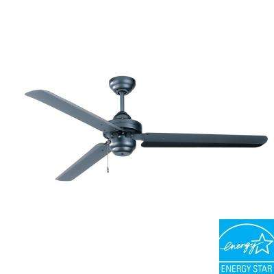Studio-54 54 in. Natural Iron Ceiling Fan