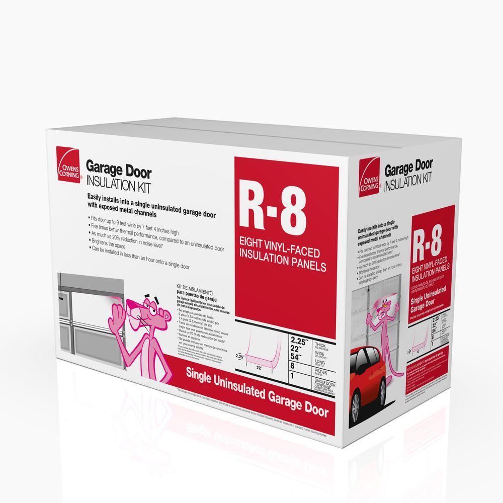 Garage Door Fiberglass Insulation Kit 22 in. x 54 in. (8-Panels)