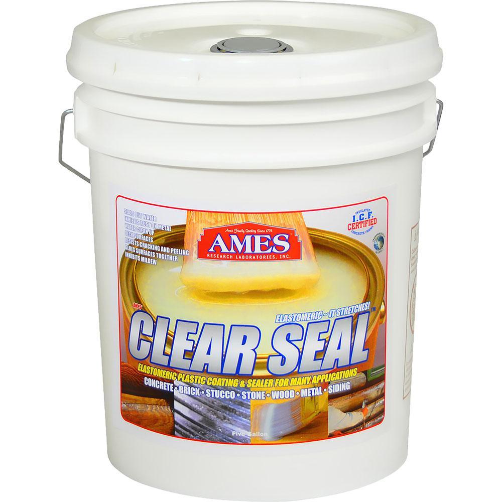 Clear Seal 5 gal. Semi Clear Acrylic Polymer