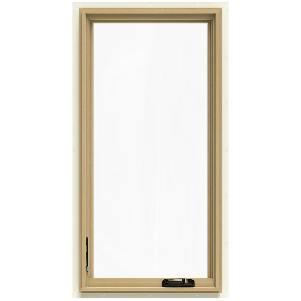 24-3/4 in. x 48-3/4 in. W-2500 Left-Hand Casement Wood Window