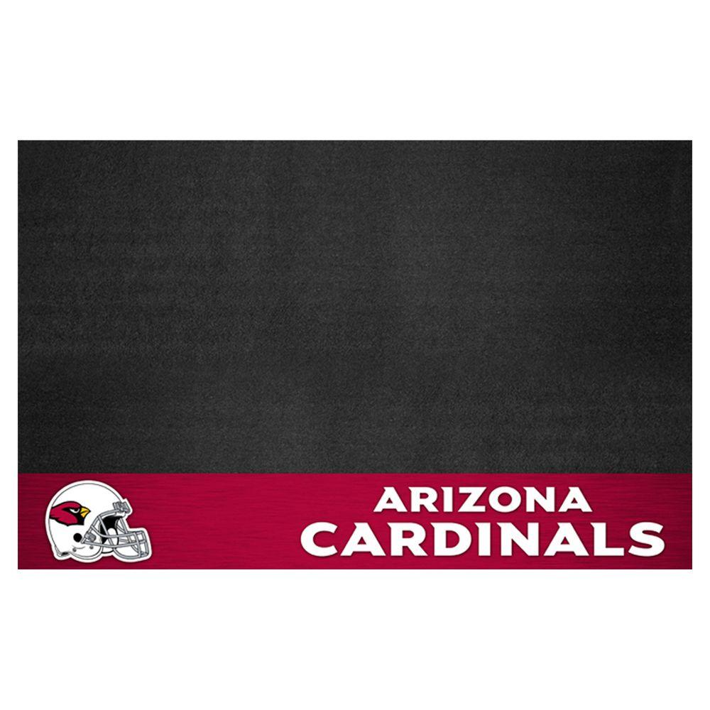 FANMATS Arizona Cardinals 26 in. x 42 in. Grill Mat