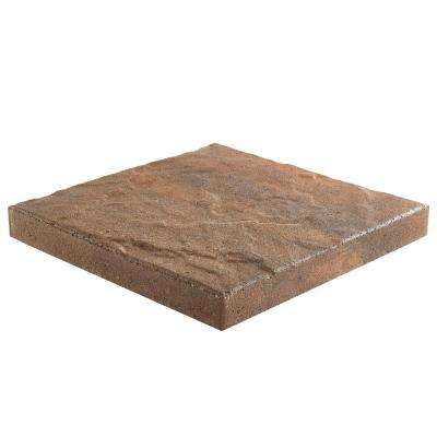 Taverna Square 16 in. x 16 in. x 2 in. Walnut Blend Concrete Step Stone (72-Pieces/124 sq. ft./Pallet)