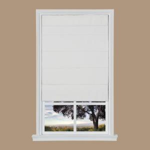 CHICOLOGY Cordless Magnetic Roman Shades Room Darkening Fabric Window Blind 36 W X 64 H Grounded Brown RMGB3664 Function