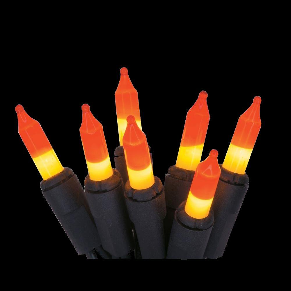 Home Accents Holiday 100-Light Candy Corn Mini String