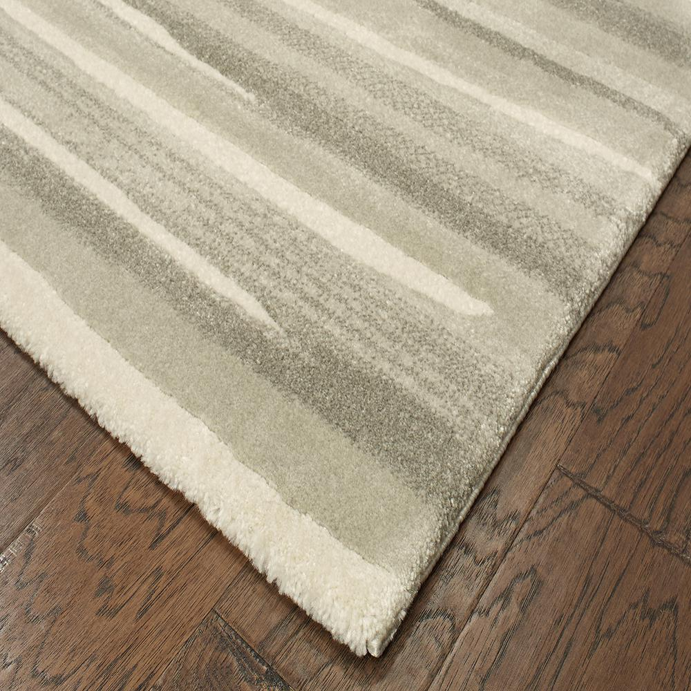 Water Color Grey 5 Ft X 7 Area Rug