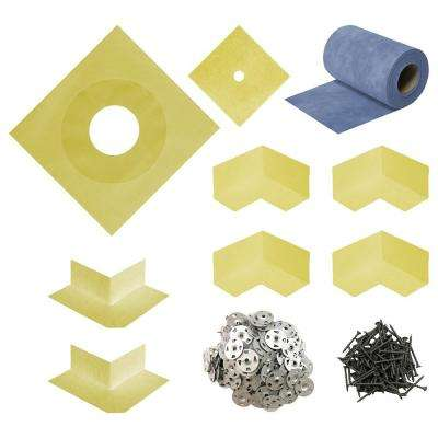 Durabase WP Complete Waterproofing Sealing Kit for Shower and Backer Board  Underlayment
