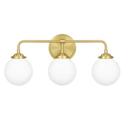 Landry 3-Light Satin Brass Vanity Light
