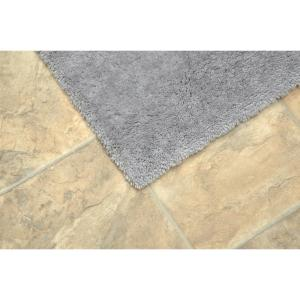 x 6 ft Garland Bath Area Rug 5 ft Room Size Nylon Nonskid Backing Chocolate