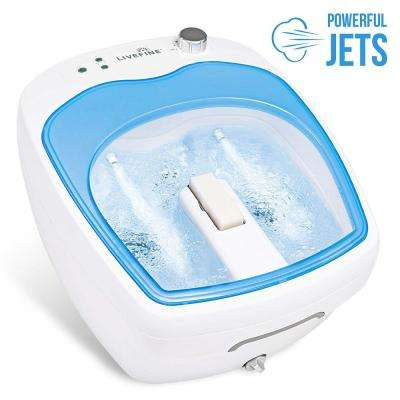 1-Person Portable Spa - Adjustable Speed Aqua Air Jets Foot Spa