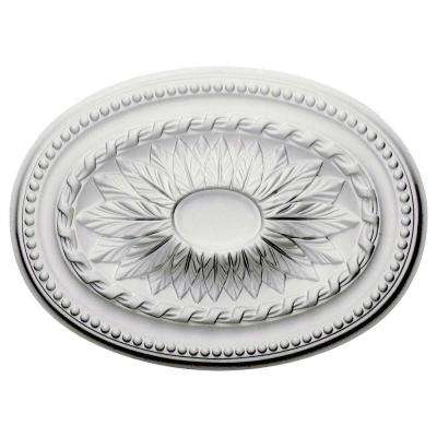 18-1/2 in. x 13-1/2 in. Saverne Ceiling Medallion