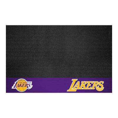 Los Angeles Lakers 26 in. x 42 in. Grill Mat