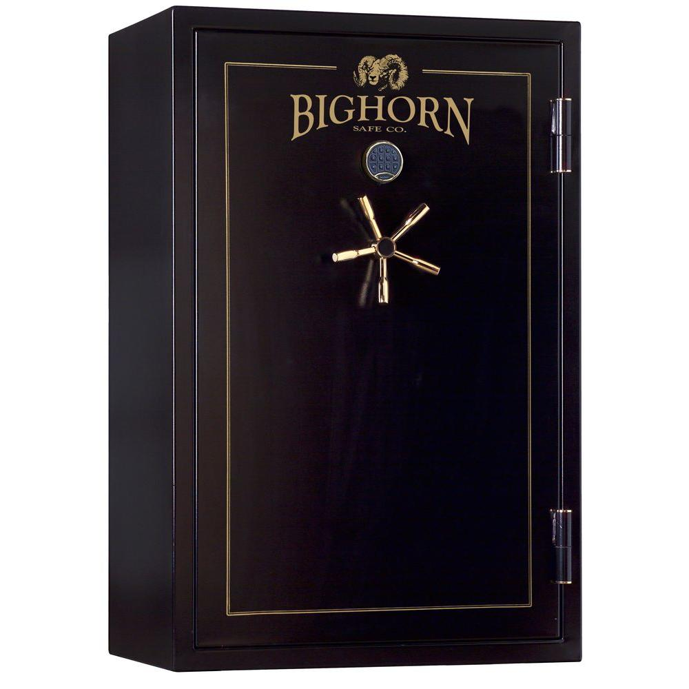 Bighorn Safe 830 lb. 32 cu. ft. 33 Gun 70 Minute Fire UL Listed Heavy Duty Safe with 1.5 in. Diameter Locking Bolts-DISCONTINUED