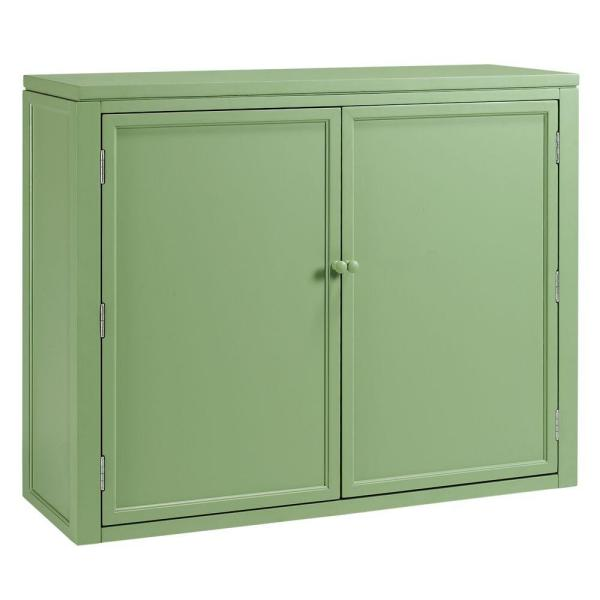Craft Space Rhododendron Leaf Green Storage Hutch (42 in. W) 0464200600